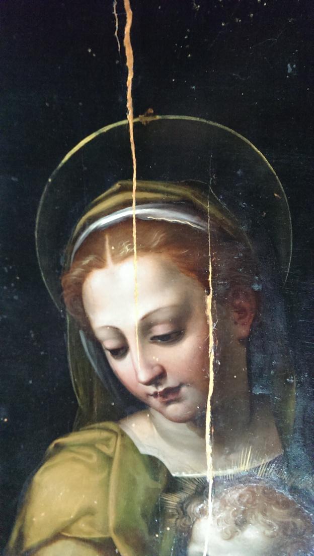 Mary head